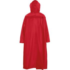 VAUDE Hiking Backpack Poncho, rood